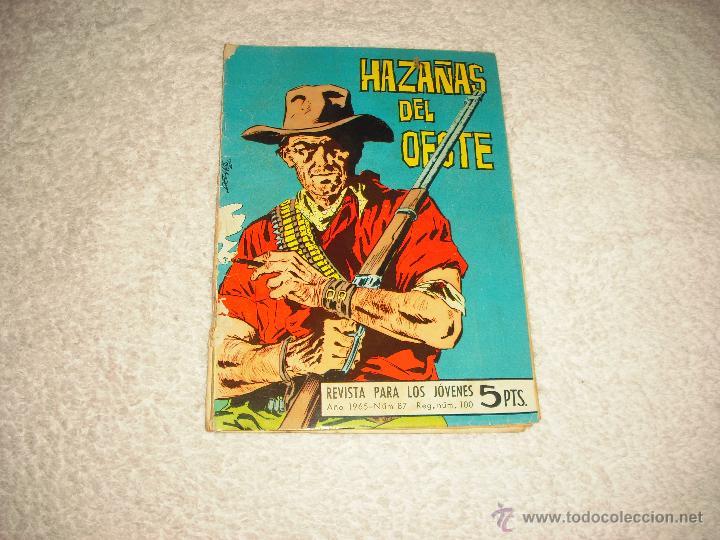 HAZAÑAS DEL OESTE 87 (Tebeos y Comics - Toray - Hazañas del Oeste)
