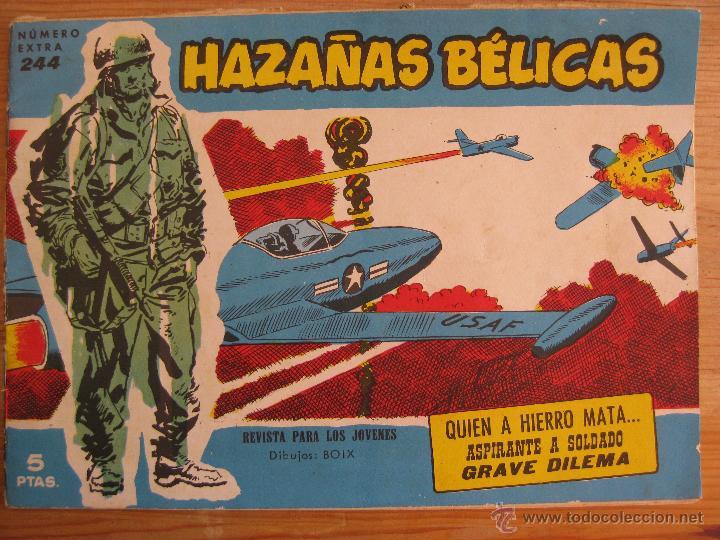 HAZAÑAS BELICAS Nº244 (Tebeos y Comics - Toray - Hazañas Bélicas)