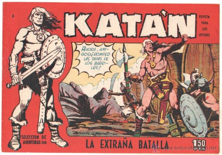 KATAN ORIGINAL EDITORIAL TORAY 1958 - 33 EJEMPLARES, MUY BUEN ESTADO (Tebeos y Comics - Toray - Katan)