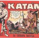Tebeos: KATAN ORIGINAL EDITORIAL TORAY 1958 - 33 EJEMPLARES, MUY BUEN ESTADO. Lote 51148155