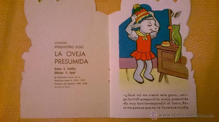 Tebeos: CUENTOS PEQUEÑO ZOO - LA OVEJA PRESUMIDA - ESPAÑA - 1967 - COMO NUEVO - RARO! - Foto 2 - 51166469