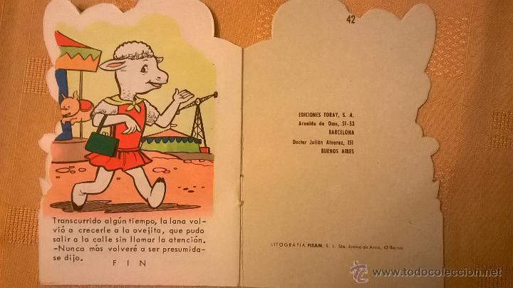 Tebeos: CUENTOS PEQUEÑO ZOO - LA OVEJA PRESUMIDA - ESPAÑA - 1967 - COMO NUEVO - RARO! - Foto 3 - 51166469