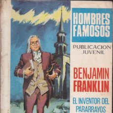 Tebeos: COMIC COLECCION HOMBRES FAMOSOS Nº 16. Lote 51450250