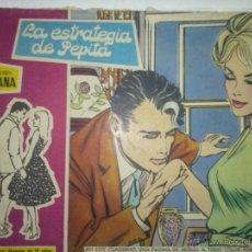 BDs: SUSANA-Nº71-´LA ESTRATEGIA DE PEPITA`-1960-EL GRAN ANTONIO BORRELL-MARÍA PASCUAL-REGULAR ESTADO-4628. Lote 51477027