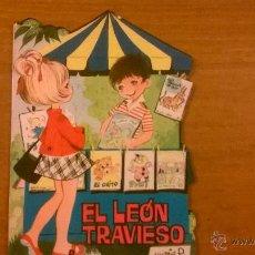 Tebeos: CUENTOS TORAY - EL LEON TRAVIESO (J CARRERA/ MARÍA PASCUAL) - Nº 162 - 1965 - ESPAÑA - IMPECABLE. Lote 51513982