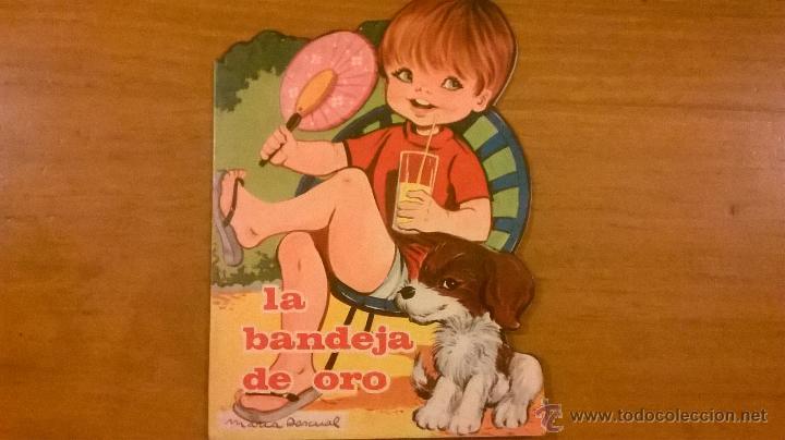 CUENTOS TORAY - LA BANDEJA DE ORO (J. CARRERA/ M. PASCUAL) - Nº 183 - 1966 - ESPAÑA - IMPECABLE (Tebeos y Comics - Toray - Otros)