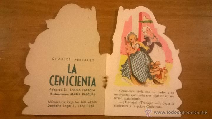 Tebeos: MINI CLASICOS TORAY - LA CENICIENTA (Perrault) - Nº 3 - 1966 - ESPAÑA - (L. García/ M. Pascual) - Foto 2 - 51514021