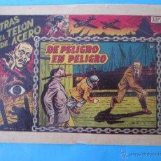 Tebeos: TRAS EL TELON DE ACERO , , NUMERO 3 , DE PELIGRO EN PELIGRO, EDICIONES TORAY , ORIGINAL. Lote 51522937