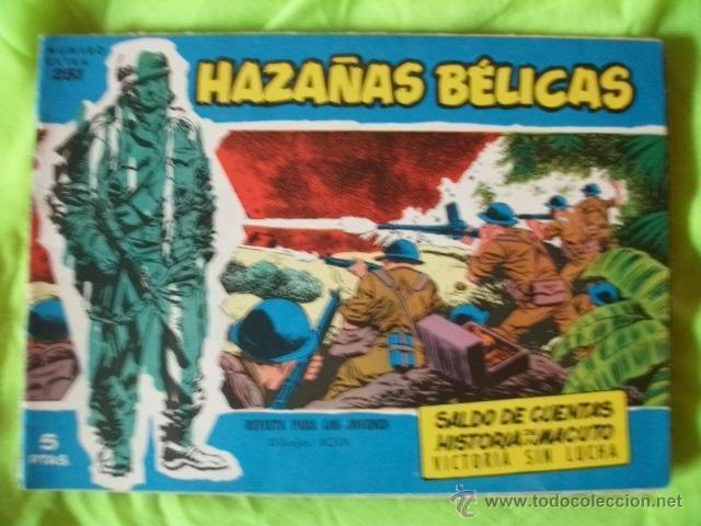 HAZAÑAS BELICAS Nº 251 MUY BIEN CONSERVADO CÓMIC (Tebeos y Comics - Toray - Hazañas Bélicas)