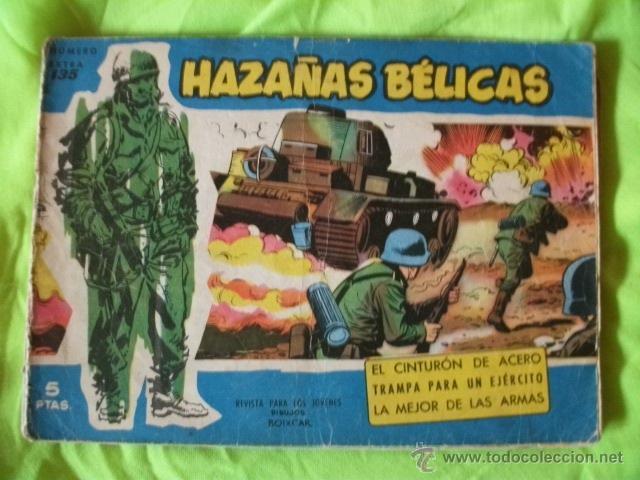 HAZAÑAS BELICAS Nº 135 TORAY CÓMIC (Tebeos y Comics - Toray - Hazañas Bélicas)