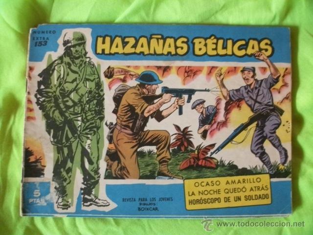 HAZAÑAS BÉLICAS EXTRA Nº 153 TORAY CÓMIC (Tebeos y Comics - Toray - Hazañas Bélicas)