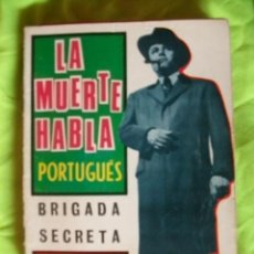 Tebeos: BRIGADA SECRETA 139 LA MUERTE HABLA PORTUGUES COMIC TORAY. Lote 51848792