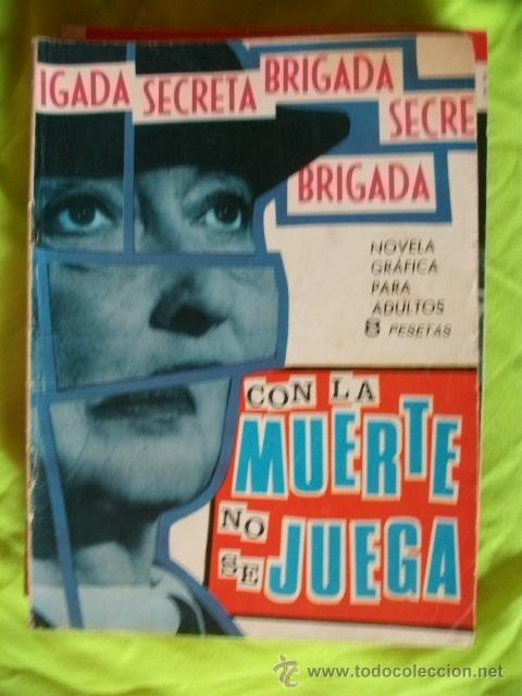 BRIGADA SECRETA Nº 137 TORAY (Tebeos y Comics - Toray - Brigada Secreta)