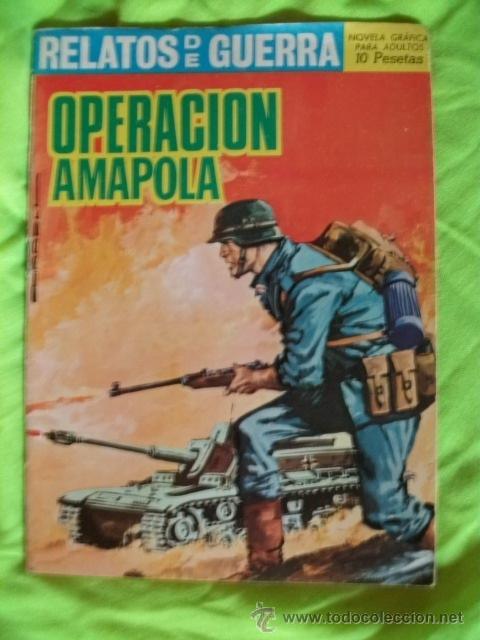 RELATOS DE GUERRA Nº 134 MUY BIEN CONSERVADO (Tebeos y Comics - Toray - Otros)