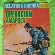 Tebeos: RELATOS DE GUERRA Nº 134 MUY BIEN CONSERVADO. Lote 51848890