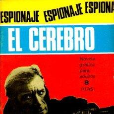 Tebeos: ESPIONAJE Nº 48: EL CEREBRO (TORAY, 1967). Lote 51970369