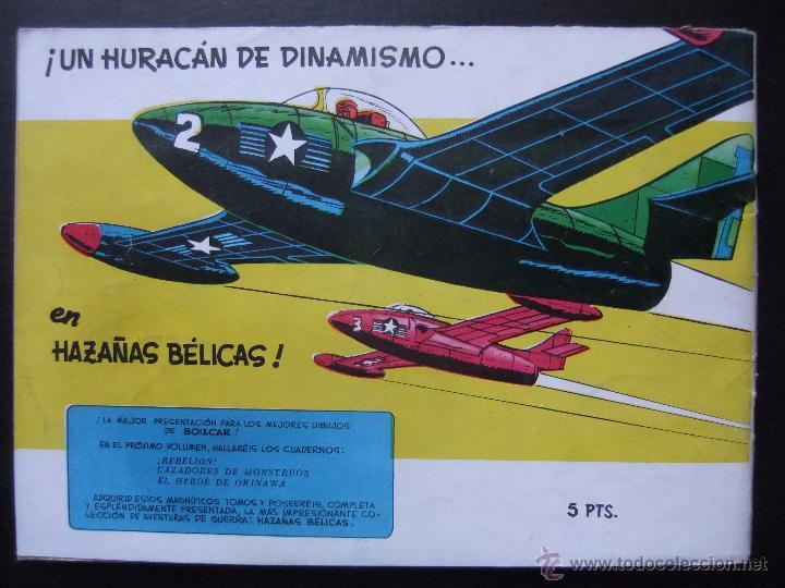 Tebeos: HAZAÑAS BELICAS SERIE AZUL VOL.3 EDICIONES TORAY 1957 ORIGINAL 1ª EDICION - Foto 2 - 52018281