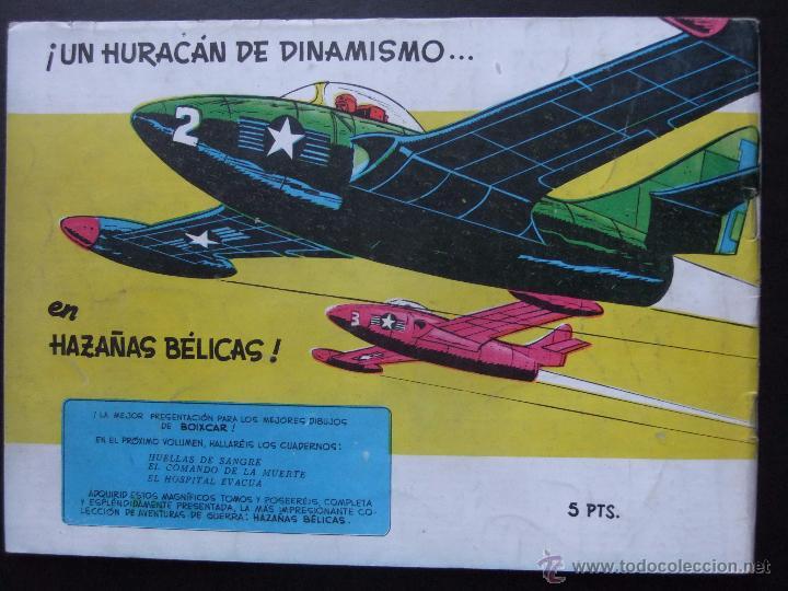 Tebeos: HAZAÑAS BELICAS SERIE AZUL VOL.4 EDICIONES TORAY 1957 ORIGINAL 1ª EDICION - Foto 2 - 52018316