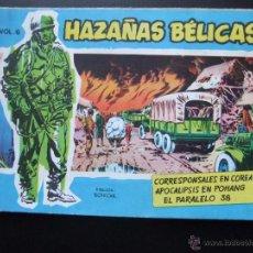 Tebeos: HAZAÑAS BELICAS SERIE AZUL VOL.6 EDICIONES TORAY 1957 ORIGINAL 1ª EDICION. Lote 52018376