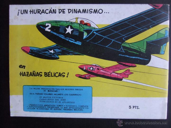 Tebeos: HAZAÑAS BELICAS SERIE AZUL VOL.8 EDICIONES TORAY 1957 ORIGINAL 1ª EDICION - Foto 2 - 52018434