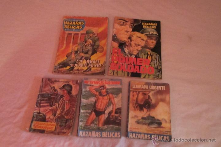 LOTE DE HAZAÑAS BÉLICAS. AÑOS ANTERIORES AL 1965 (Tebeos y Comics - Toray - Hazañas Bélicas)
