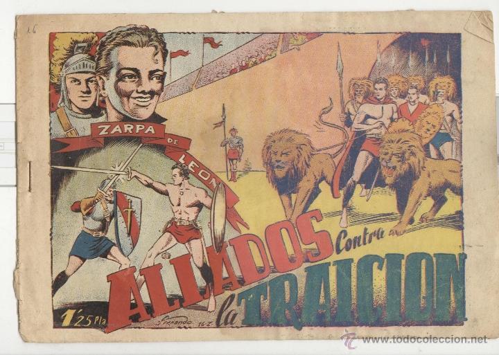 TORAY.EDICIÓN ORIGINAL . ZARPA DE LEON 16 . ALIADOS CONTRA LA TRAICIÓN (Tebeos y Comics - Toray - Zarpa de León)