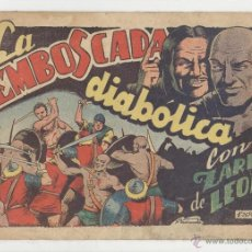 Tebeos: TORAY.EDICIÓN ORIGINAL . ZARPA DE LEON 42. LA EMBOSCADA DIABÓLICA. Lote 52026309