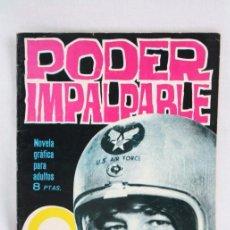 Tebeos: CÓMIC / NOVELA GRÁFICA DE ESPIONAJE - PODER IMPALPABLE. Nº 6 - ED. TORAY - AÑOS 60. Lote 52030430