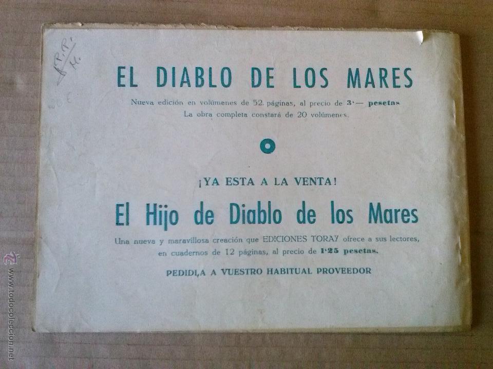 Tebeos: el diablo de los mares , album nº V - toray -t - Foto 2 - 52314458