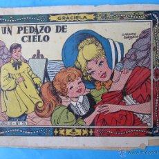 Tebeos: COLECCION GRACIELA , NUMERO 55 , UN PEDAZO DE CIELO , TORAY - CARMEN BARBARA. Lote 136457621