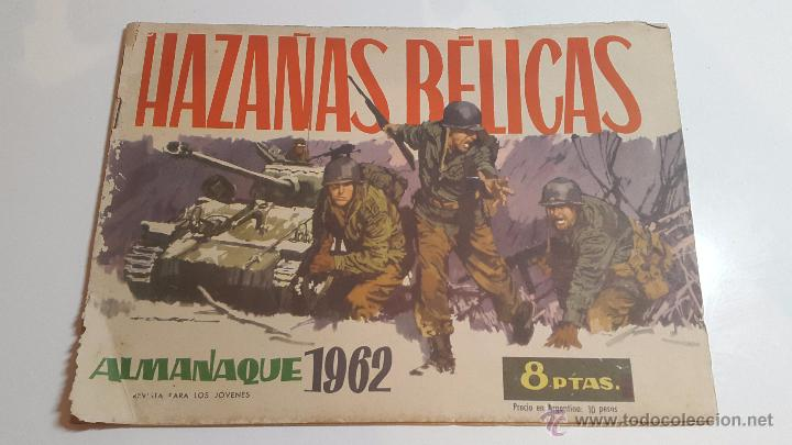 HAZAÑAS BÉLICAS ALMANAQUE 1962 (Tebeos y Comics - Toray - Hazañas Bélicas)