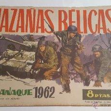 Tebeos: HAZAÑAS BÉLICAS ALMANAQUE 1962. Lote 52327654