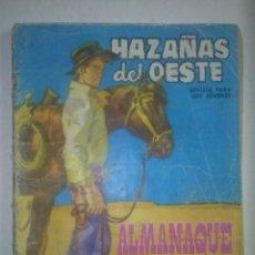 Tebeos: HAZAÑAS DEL OESTE-ALMANAQUE 1964 -LONGARON-AYNÉ-BUDESCA-BUENO-LEAN-9310. Lote 131433603