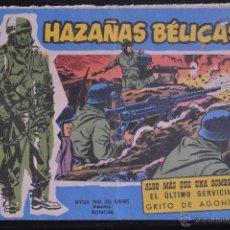 Tebeos: HAZAÑAS BELICAS, EXTRA AZUL, Nº 156. BOIXCAR. LITERACOMIC.. Lote 52473048