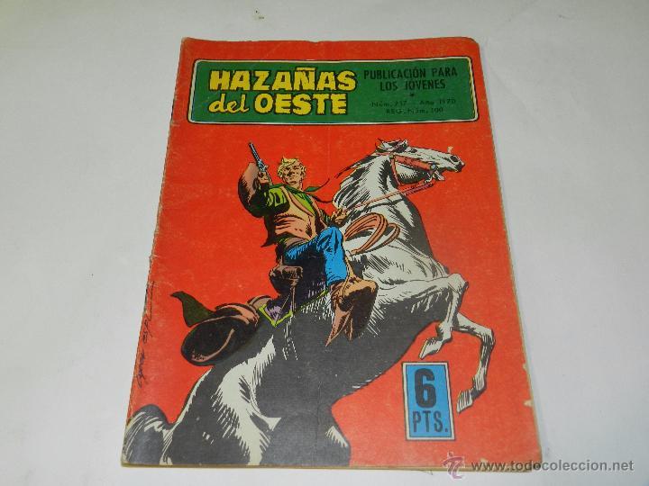 (M4) HAZAÑAS DEL OESTE NUM 217 , EDC TORAY, SEÑALES DE USO (Tebeos y Comics - Toray - Hazañas del Oeste)