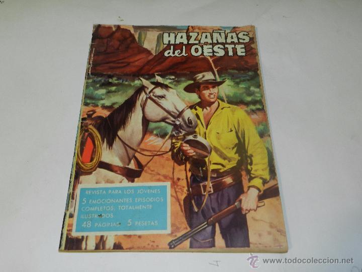 (M4) HAZAÑAS DEL OESTE NUM 22 , EDC TORAY, SEÑALES DE USO (Tebeos y Comics - Toray - Hazañas del Oeste)