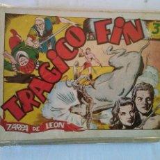 Tebeos: ZARPA DE LEON ,ALBUMES 20 NºS - COMPLETA -TORAY- GA. Lote 52587418