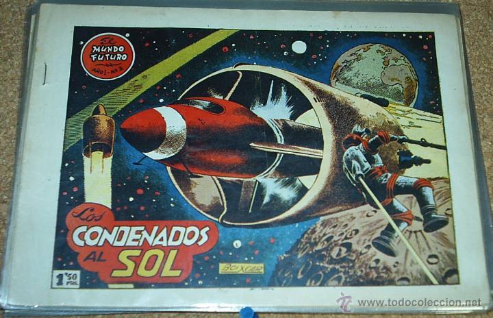 EL MUNDO FUTURO Nº 2 - TORAY 1955 - ORIGINAL - LEER (Tebeos y Comics - Toray - Mundo Futuro)