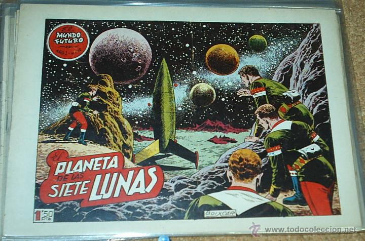 EL MUNDO FUTURO Nº 12 - TORAY 1955 - ORIGINAL (Tebeos y Comics - Toray - Mundo Futuro)