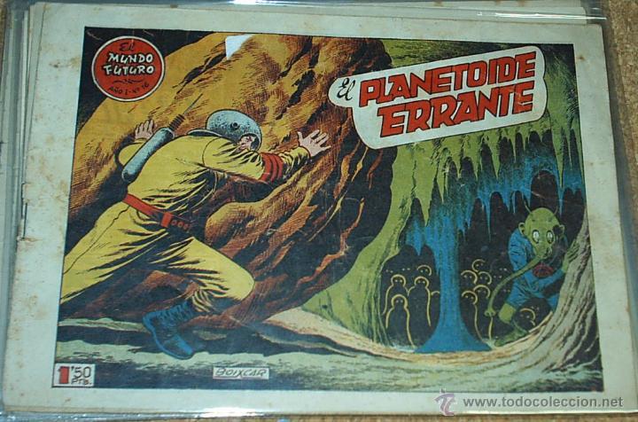 EL MUNDO FUTURO Nº 16 - TORAY 1955 - ORIGINAL- LEER (Tebeos y Comics - Toray - Mundo Futuro)