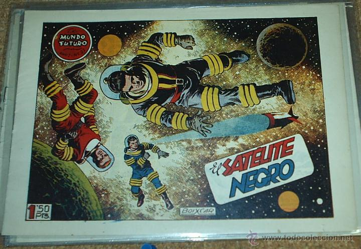 EL MUNDO FUTURO Nº 22 - TORAY 1955 - ORIGINAL (Tebeos y Comics - Toray - Mundo Futuro)