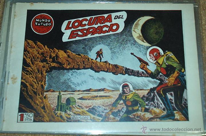 EL MUNDO FUTURO Nº 25 - TORAY 1955 - ORIGINAL (Tebeos y Comics - Toray - Mundo Futuro)