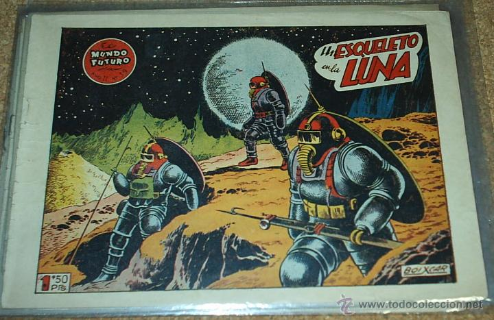EL MUNDO FUTURO Nº 39 - TORAY 1955 - ORIGINAL- LEER (Tebeos y Comics - Toray - Mundo Futuro)
