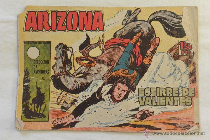 TEBEO ARIZONA ESTIRPE DE VALIENTES (Tebeos y Comics - Toray - Otros)