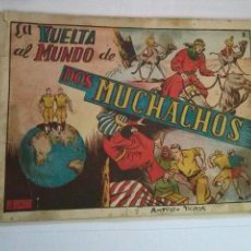 Tebeos: LA VUELTA AL MUNDO DE DOS MUCHACHOS , COMPLETA DE 8 NºS - TORAY ALBUMES- - VER DESCRIPCION - GA. Lote 53142706