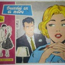 Tebeos: SUSANA-Nº31-´SUCEDIÓ EN EL METRO`-1959-EL GRAN PÉREZ FAJARDO-BELLÍSIMO-CORRECTO-5000. Lote 53143145