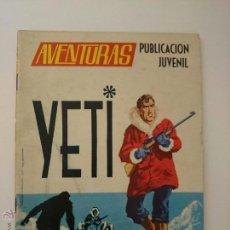 Tebeos: AVENTURAS - EL YETI - EDICION TORAY. Lote 53149850