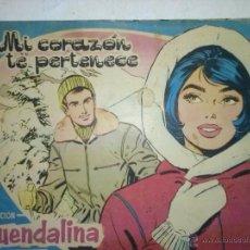 BDs: GUENDALINA- Nº 28 -1960-MI CORAZÓN TE PERTENECE-GRAN JORGE FRANCH-MARAVILLOSO-CORRECTO-LEA-5023. Lote 53188556