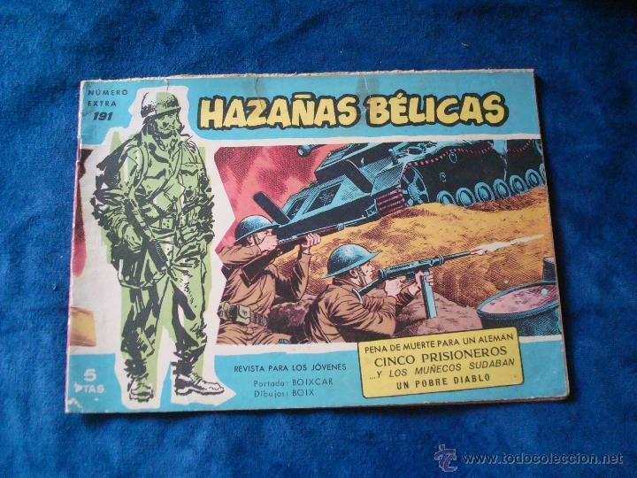 HAZAÑAS BELICAS SERIE AZUL Nº EXTRA 191 TORAY (Tebeos y Comics - Toray - Hazañas Bélicas)