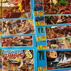 Tebeos: COMIC HAZAÑAS BELICAS LOTE DEL 1 AL 15 REEDICION 1987 NUEVOS . Lote 53312330